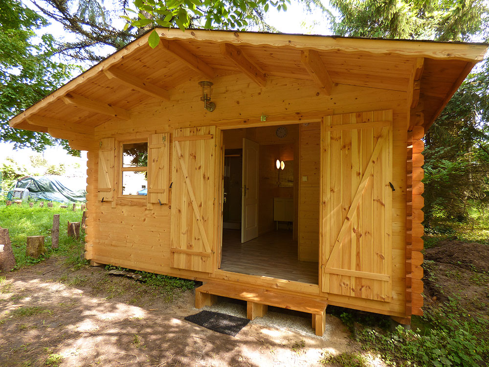 chalet sanitaires