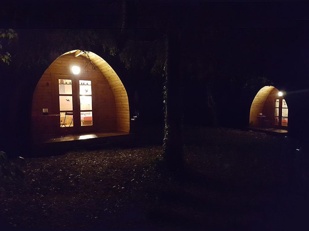 Cabanes de nuit
