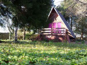 Cabane familiale hébergement insolite